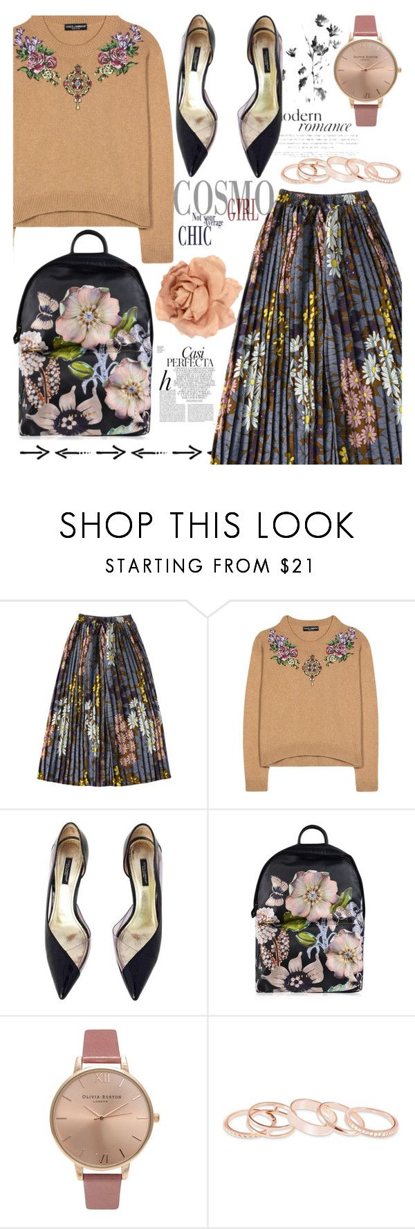 """""""271"""" by erohina-d ❤ liked on Polyvore featuring Dolce&Gabbana, Ted Baker, Olivia Burton, Kendra Scott, Chanel and Whiteley"""