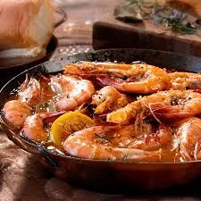 BARBECUE SHRIMP  Lone Star Steakhouse Copycat Recipe   Serves 3-4   2 pounds of head on shrimp  4 tablespoons barbecue sauce  4 tablespo...
