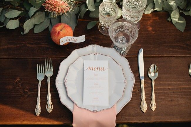 Place Setting | James and the Giant Peach shoot
