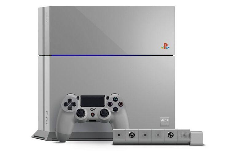 PS4 20th Anniversary Edition IN Original Playstation Grey!