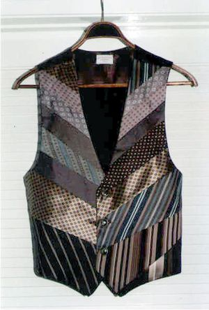 How to Make a Vest from Old Neckties - Yahoo! Voices - voices.yahoo.com