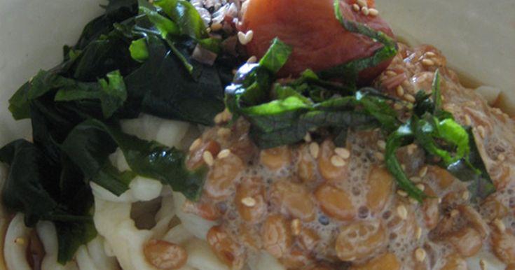 納豆とわかめの冷やしうどん by cooktorako [クックパッド] 簡単おいしいみんなのレシピが247万品