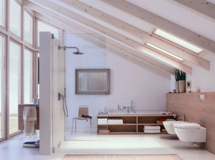 Geberit European Toilet Systems Save Water and Space : Remodelista