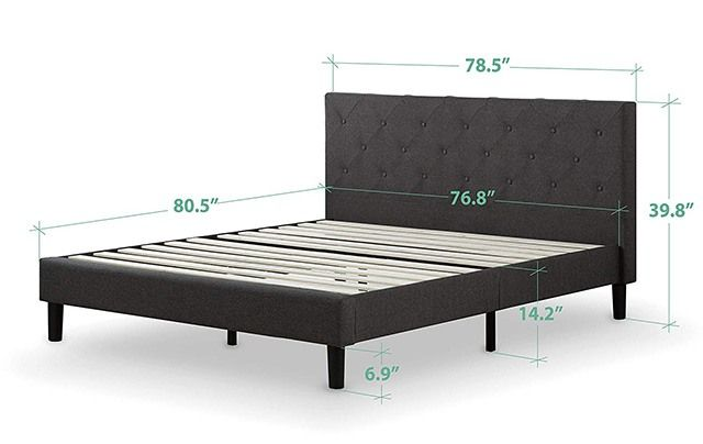 How Wide Is A King Size Bed Frame King Size Bed Frame Bed