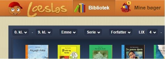 Digitale bøger fra Gyldendal med opgaver og højtlæsning