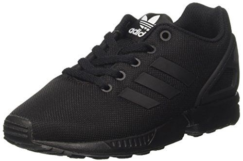 From 47.18 Adidas Zx Flux Boys' Low-top Trainers Black Size: 4 Uk
