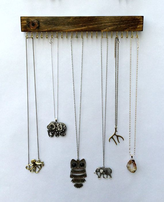Best 25+ Wall mounted necklace holder ideas on Pinterest ...