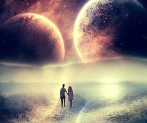 Almas Gêmeas     Através de suas faixas cármicas na longa jornada evolutiva, em qualquer situação em que não estiverem juntos, have...