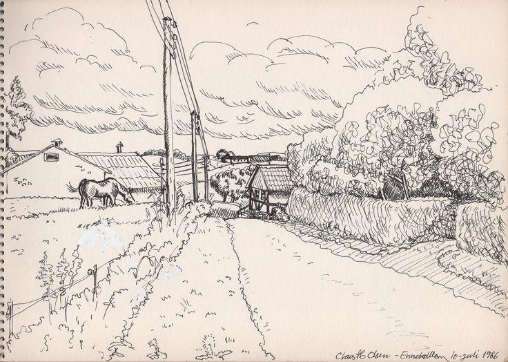 Landscap - Langeland Claus ib Olsen 1986
