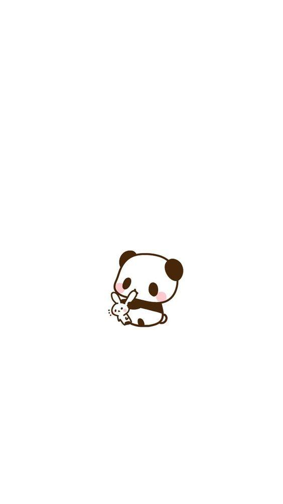 Cute cute panda cartoon wallpaper