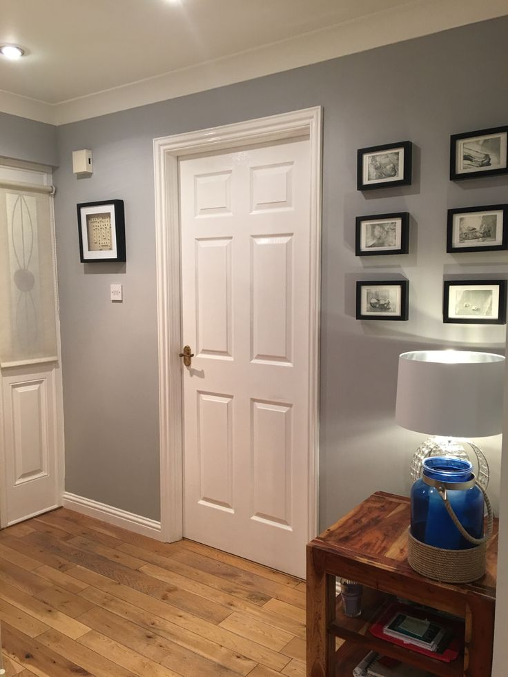 I Like The Floor And Paint Color Against White Trim Dark Frames