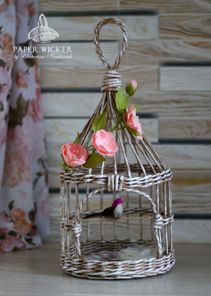 PAPER WICKER - Плетение из бумаги, Беларусь   VK
