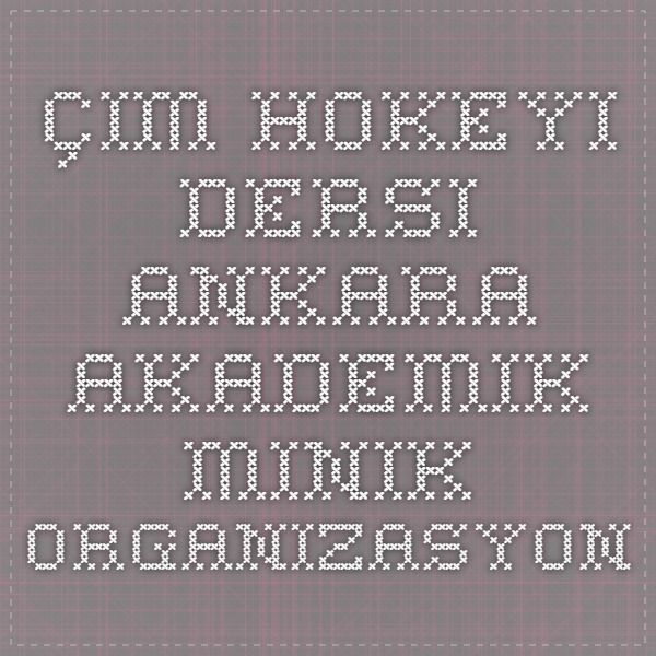 Çim Hokeyi Dersi Ankara - Akademik Minik Organizasyon