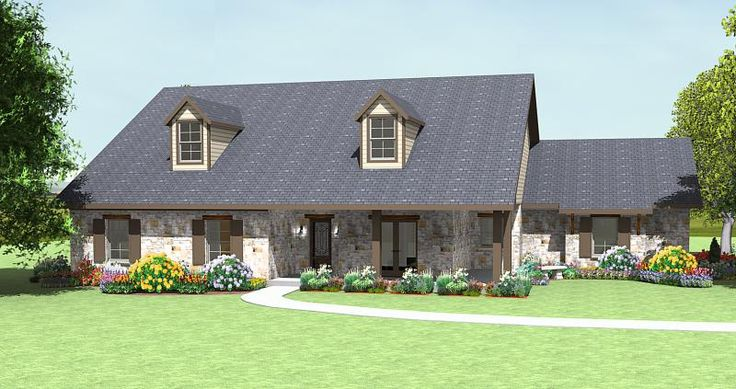 Korel home designs country house plan r1992a my home for Korel home designs