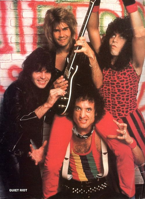 "grapost: "" Quiet Riot - Kevin Dubrow """