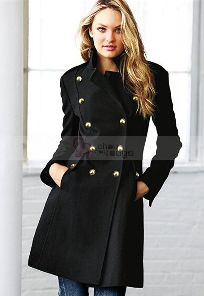 manteau de soir e femme en laine classieux style hiver. Black Bedroom Furniture Sets. Home Design Ideas