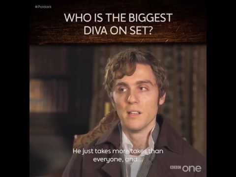 BBC One «Who's the biggest diva on the set of #Poldark » - YouTube