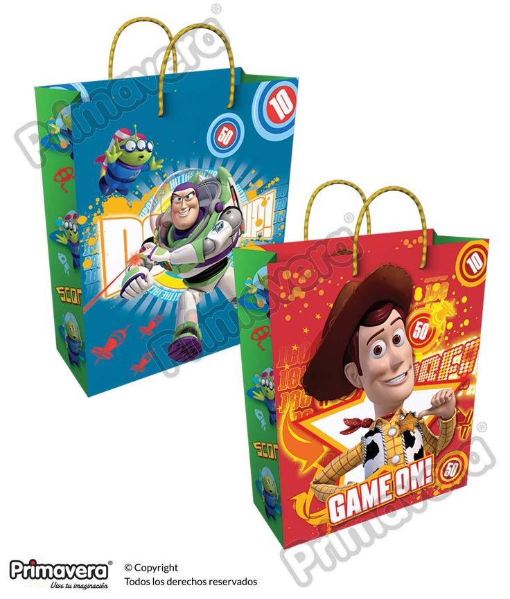 Bolsa Regalo Toy Story http://envoltura.papelesprimavera.com/product/bolsa-regalo-personajes-toy-story-3/