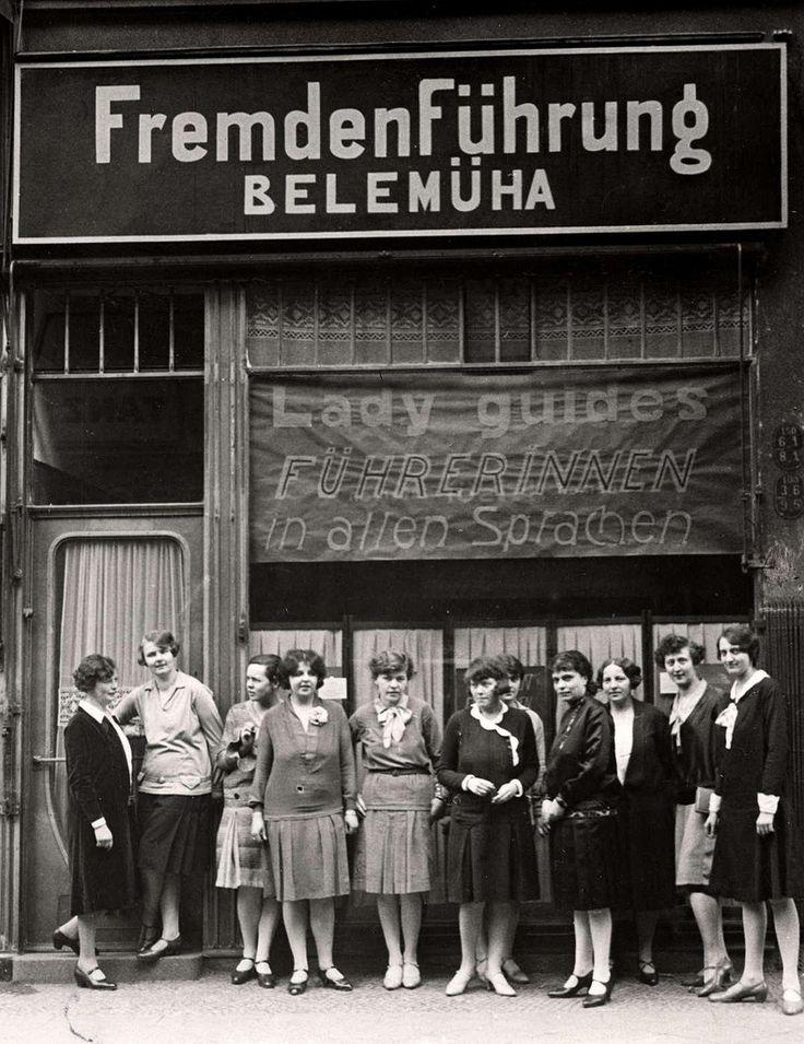 Berlin 1929 Reisefuehrerinnen