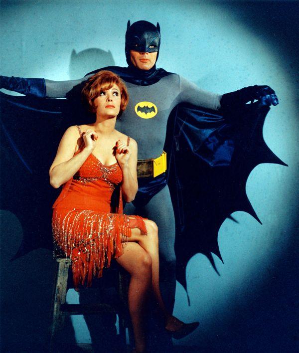 Batman (Adam West) and Molly (Jill St. John), 1966