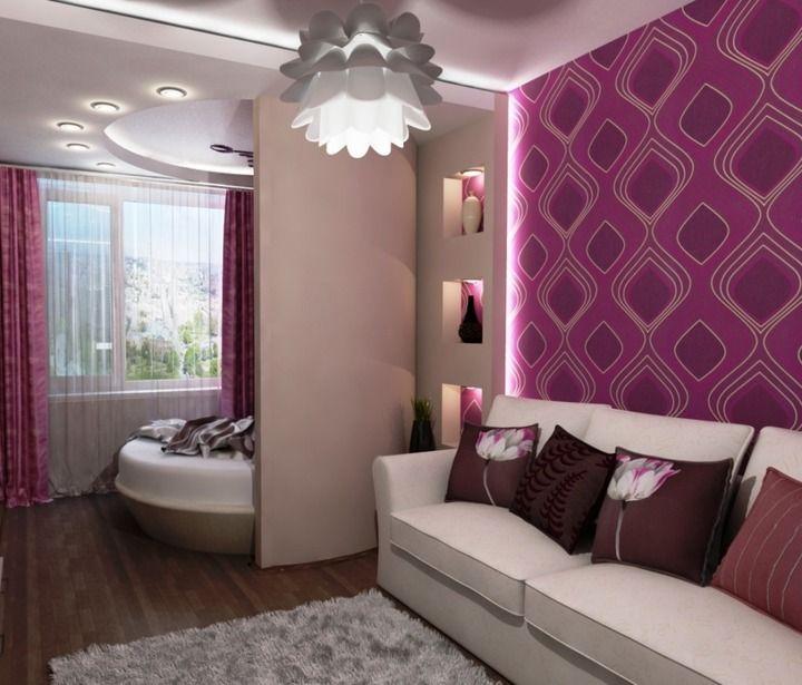 зонирование гостиной и спальни: 23 тыс изображений найдено в Яндекс.Картинках