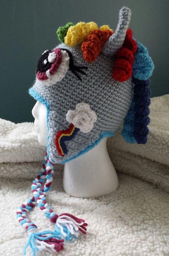 Crochet My Little Pony Pinkie Pie Rainbow by SweetStuffCrochet