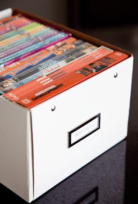 DVD organization | Boxwood Clippings
