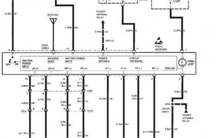 50 1995 Chevy Silverado Radio Wiring Diagram Vu7v di 2020