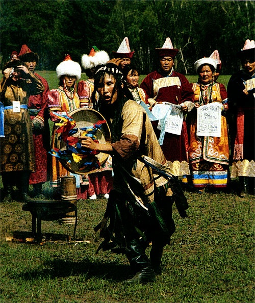 Buryat shaman-ess? More than half of Central Asian shamans were women and they still outnumber men more often than not.