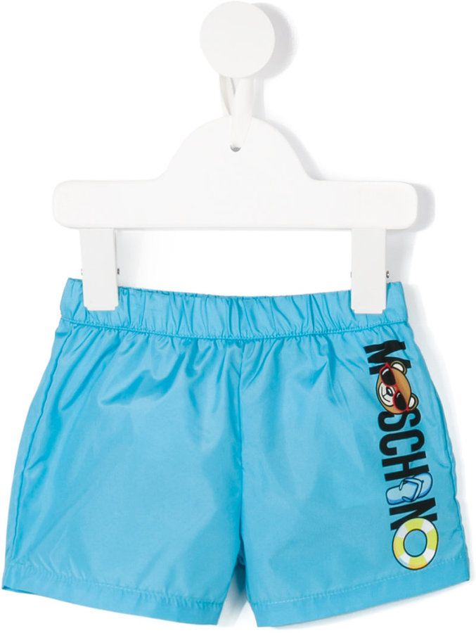 Moschino Kids Teddy bear swim shorts