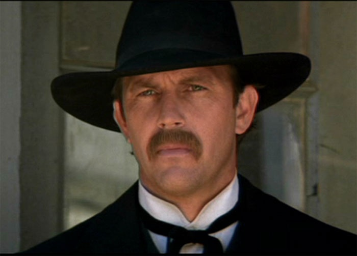 Wyatt Earp - this movie is so good!! Reminds me of someone I love very much and respect...my protector