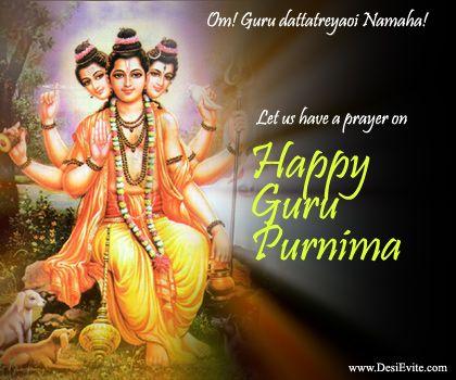 Hindu Cosmos - Happy Guru Purnima (via desievite.com)
