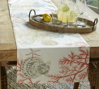 Tropical Table Linens By Pottery Barn