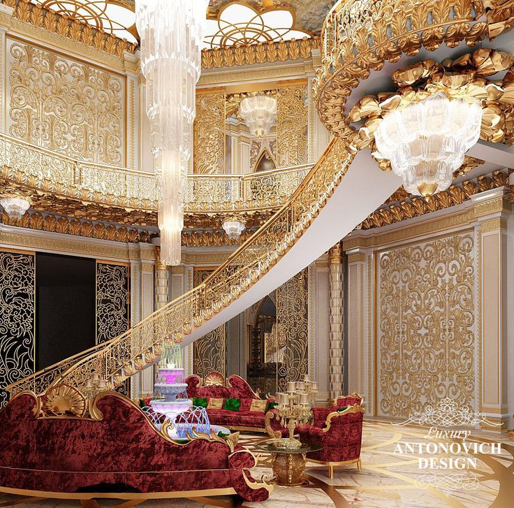 Luxury Modern Mansion Interior: Exquisitely Regal #WhiteandGold Luxury Mansion Interior