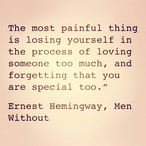 Earnest Hemingway, Men Without
