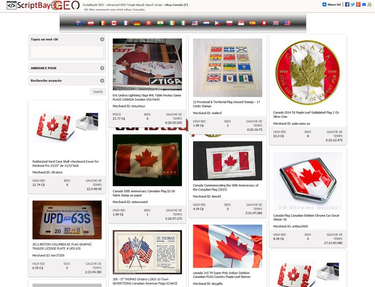 ScriptBay GEO - GEO TARGET your Users to one of the 19 Worldwidw eBay Market! http://scriptnet.net/scriptbay-geo