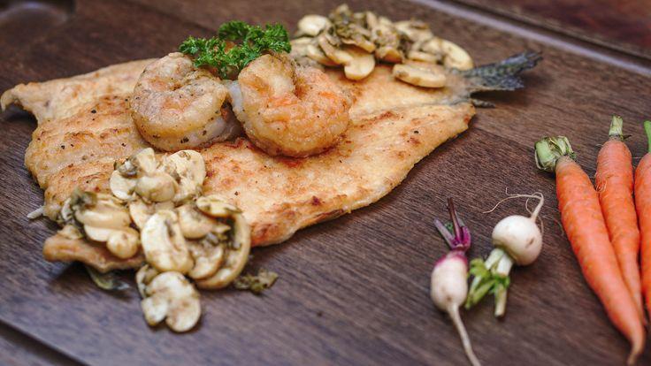 Truta à Belle Meunière, aprenda a receita tradicional - http://www.casalcozinha.com.br/receita/truta-a-belle-meuniere-original/