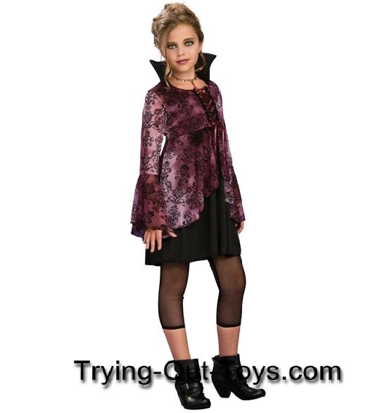 Tween Vampire Costumes For Girls