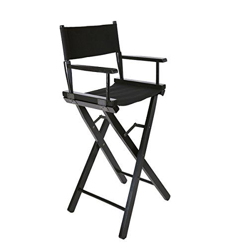 Tuff Concepts Black Portable Folding Makeup Artist Directors Chair Lightweight Garden Ourdoors Chairs---49.99---
