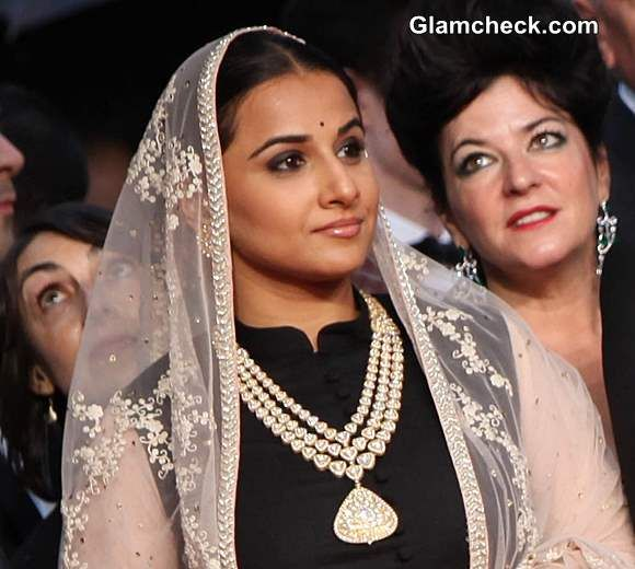 Vidya Balan Impresses in Sabyasachi Lehenga at 2013 Cannes Opening Ceremony