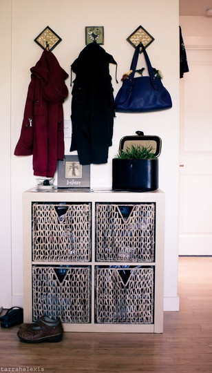 Genius Idea Ikea Expedit Shelves With Baskets For Storage: 1000+ Images About Front Door Shoe Rack Ideas On Pinterest