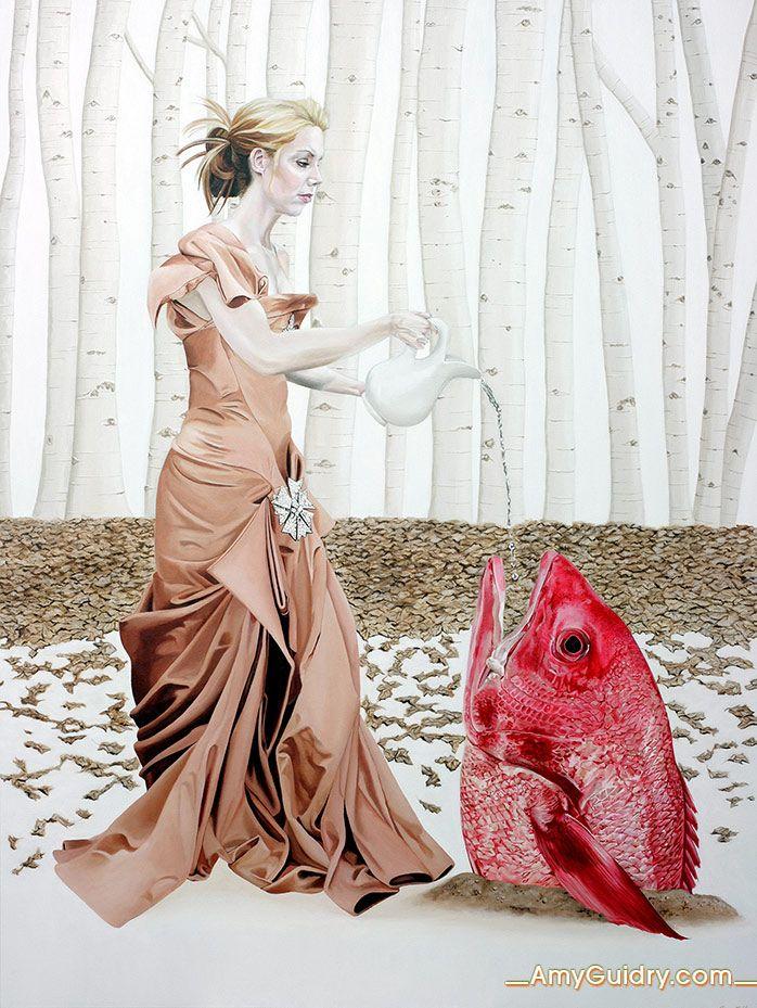 "Adaptation - Acrylic on Canvas - 36"" x 48"""