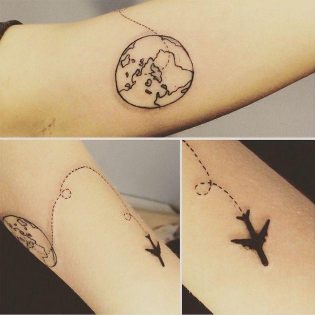 20 ideias de tatuagem pra quem ama viajar – Nômades DigitaisNômades Digitais
