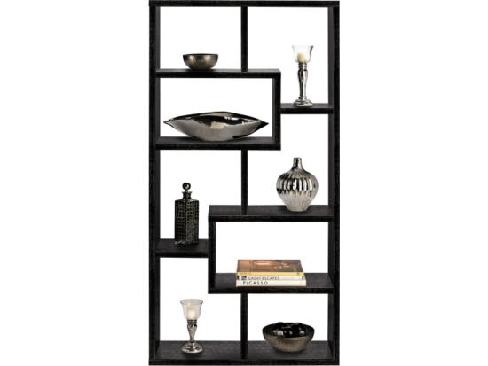 Elegant Obsidian Display Bookcase   Value City Furniture #VCFwishlist