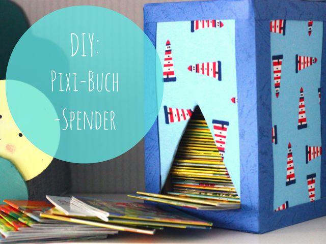 DIY: Pixi-Buch-Spender DIY , Pixi , Buch