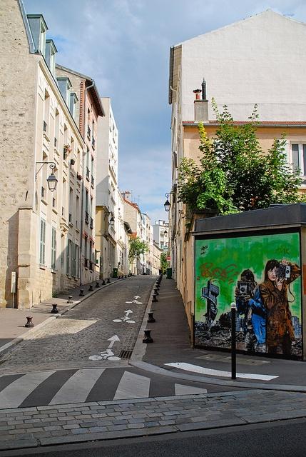 Butte aux cailles. Paris 13eme.