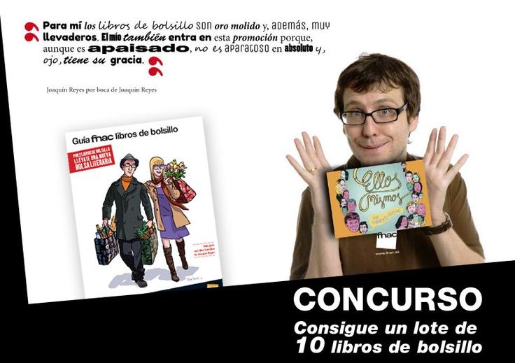 ¿Quieres ganar 10 libros de bolsillo? Participa en nuestro concurso en Facebook: https://apps.facebook.com/easypromos/promotions/70721?Origin=FACEBOOK