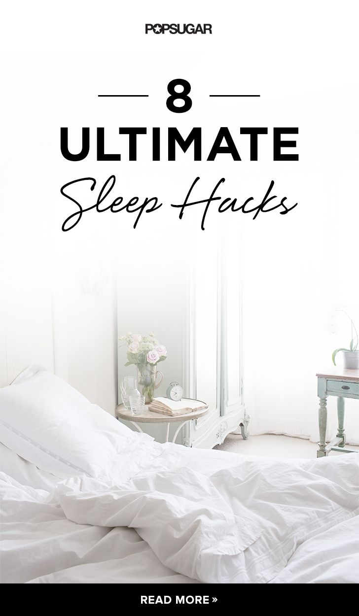 To help you get great sleep, we've found some hacks that you might not know about . . .