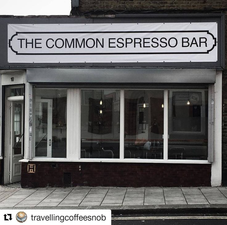 The Common Expresso Bar, Clapham Common, London