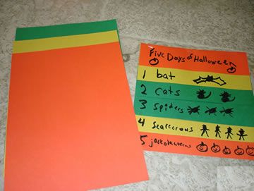 """Dr. Jean's Song & Activity, """"Five Days of Halloween"""""""